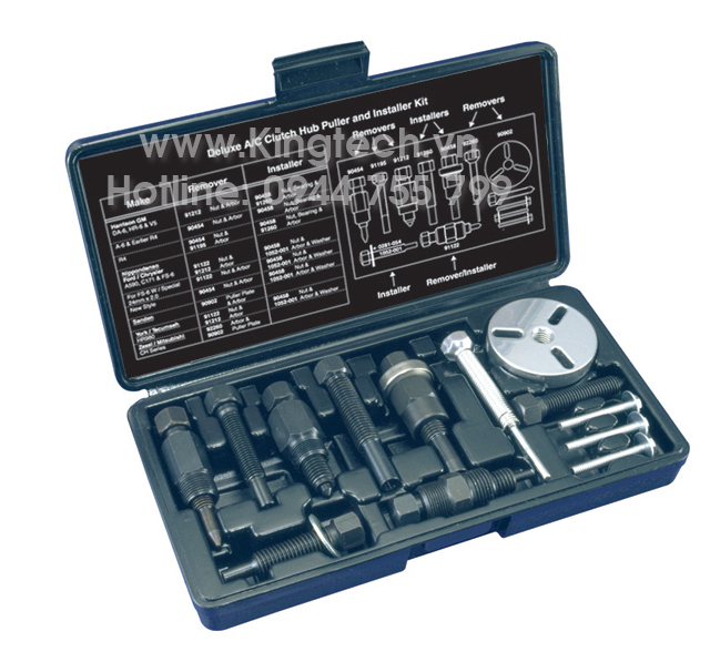 Mastercool 91000A - Deluxe Clutch Hub Puller/Installer Kit