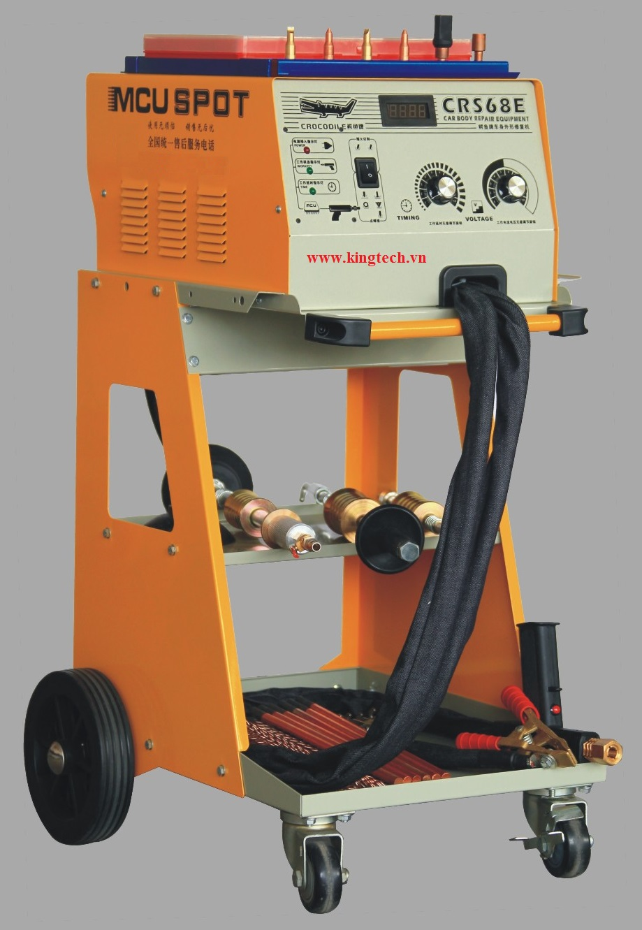 Steel body single side spot welder CRS-68E