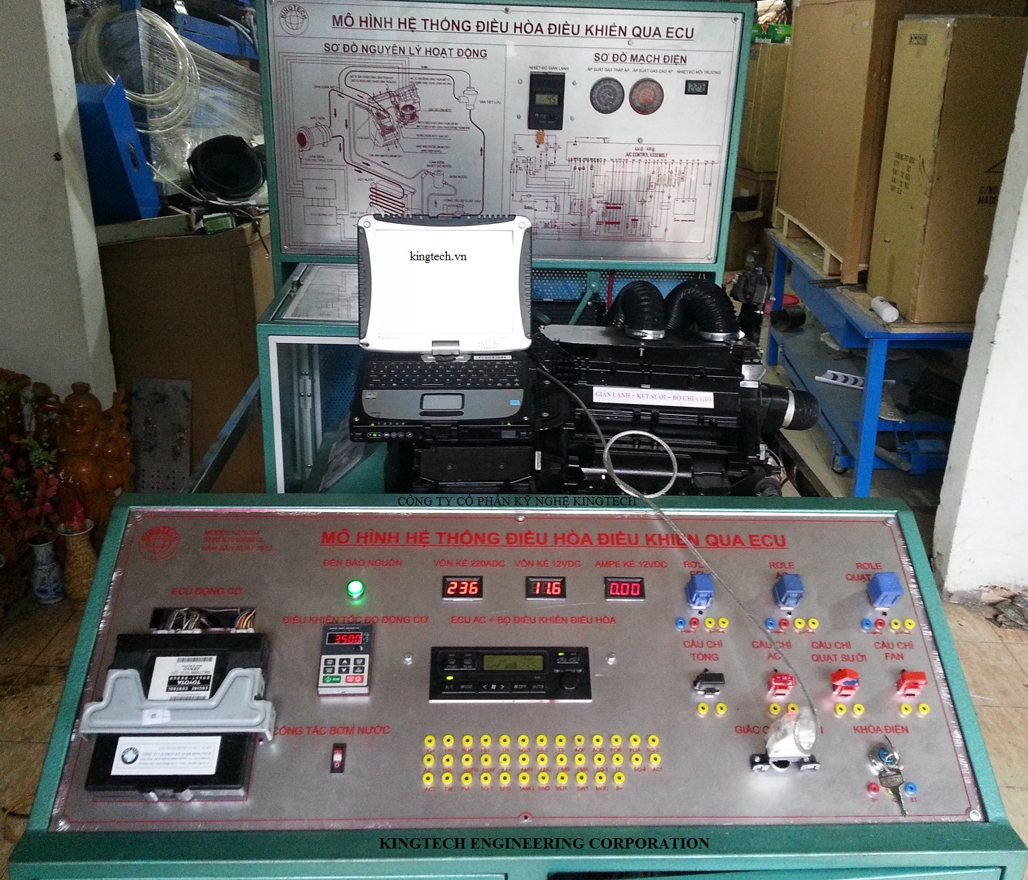 automotive-automatic-air-conditioning-system-educational-training-equipment