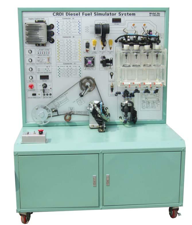 Mô hình đào tạo hệ thống phun dầu điện tử Commonrail 180305