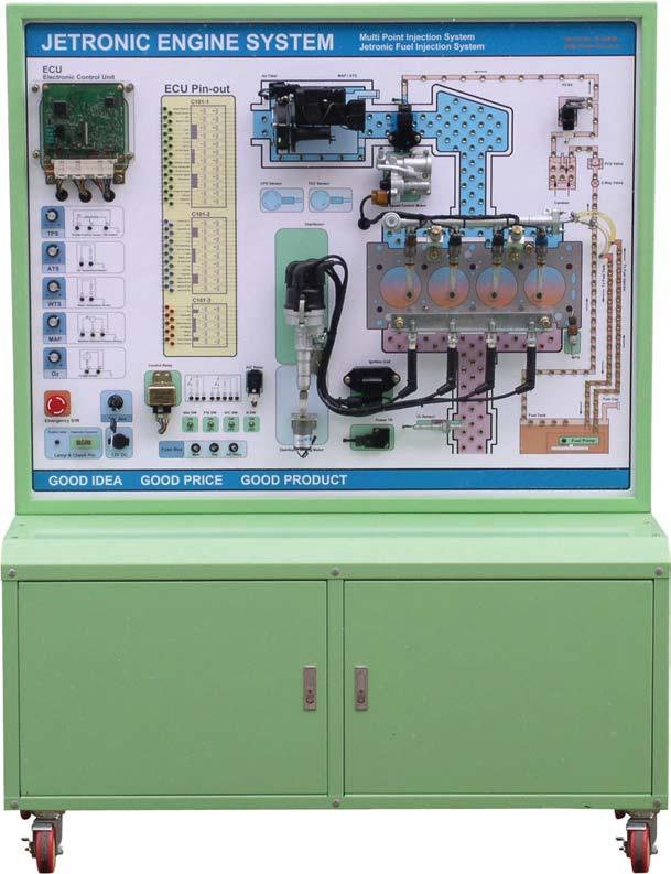 Mô hình đào tạo hệ thống phun xăng điện tử Jetronic 180311