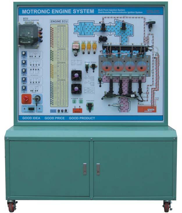 Mô hình đào tạo hệ thống phun xăng điện tử Motronic 180301