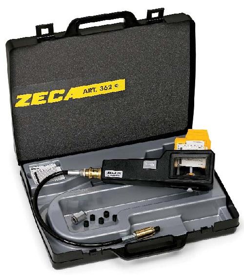 Dụng cụ đo áp suất động cơ xăng có thẻ ghi ZECA ART.362